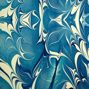 Blue Marbling