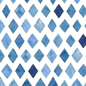 Indigo Diamond Pattern