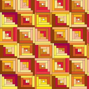 Rusty  Quilt Top