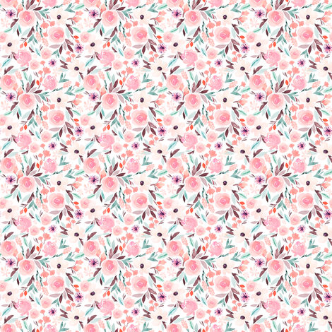 Indy Bloom Design  Sage A fabric by indybloomdesign on Spoonflower - custom fabric