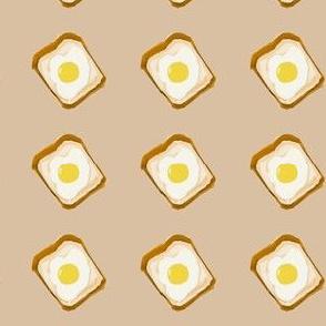 egg toast beige