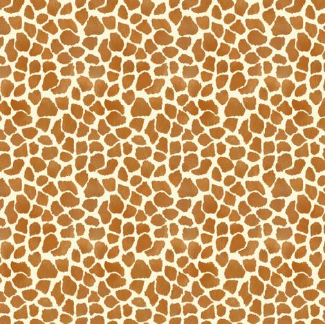 Custom Small Giraffe Spots fabric by eclectic_house on Spoonflower - custom fabric