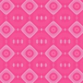 Pink on Pink Tribal Diamonds