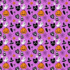 halloween doodle purple (tiny)