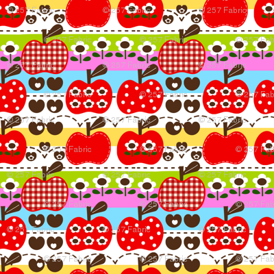 happy apple_red