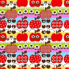 happy apple_red