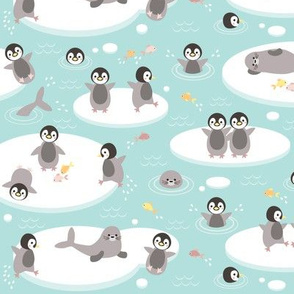 Baby penguins - small