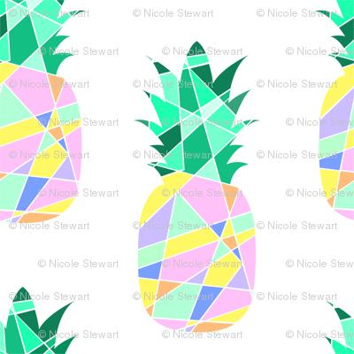 Geometric Pineapple Pop