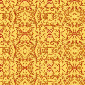 Rusty Halloween Pattern