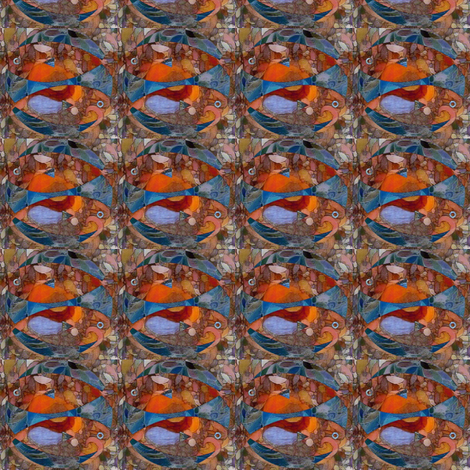 waiting pisces fabric by dragonflyfae on Spoonflower - custom fabric