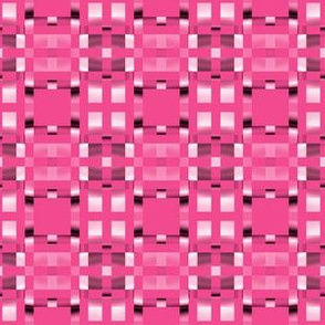 Hot Pink Pixel Geometric