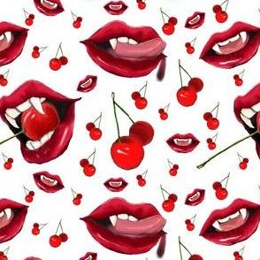 cherry bomb white