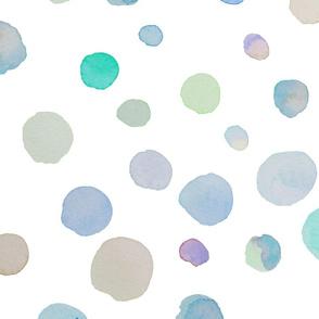 Pastel Watercolor Dots