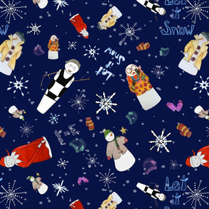 Holiday_Fabric-Snowmen5c_8x8-150_SF