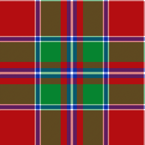 "Spens / Spence tartan, 6"" modern fabric by weavingmajor on Spoonflower - custom fabric"
