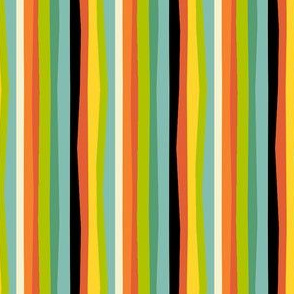 Vintage Halloween Stripe