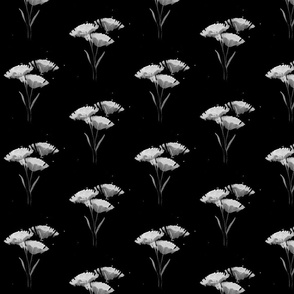 black_and_white_flowerinverted