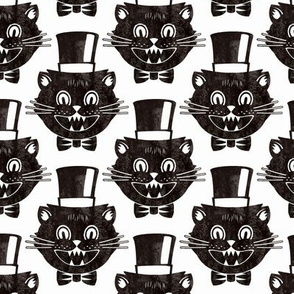 Black Cat Vintage - on White
