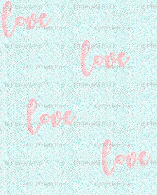 dot art love