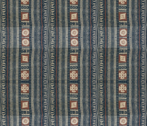 fijian tapa cloth 16 fabric by hypersphere on Spoonflower - custom fabric