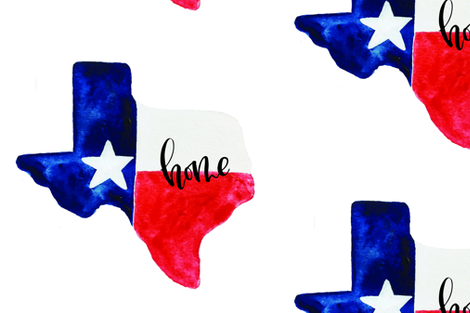 texas_watercolor2 fabric by myfairletters on Spoonflower - custom fabric