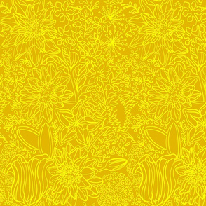 floral_linepatternyellow
