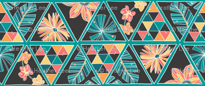 triangle-floral