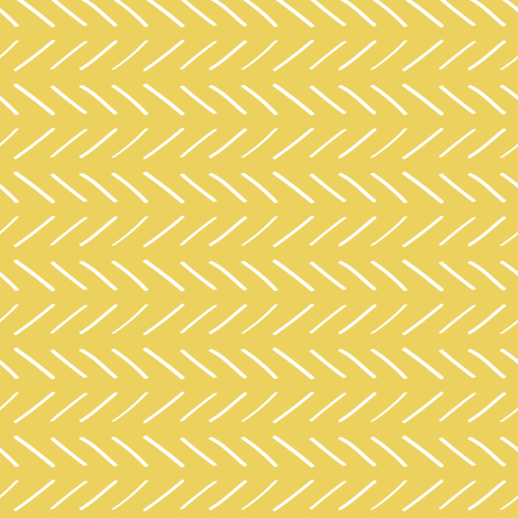 Sketched Lines- Gold fabric by huffernickel on Spoonflower - custom fabric