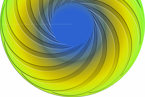 Swirl_Gypsy_Dress_Round_H fabric by stradling_designs on Spoonflower - custom fabric