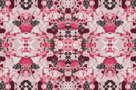 Berry Flowers fabric by gidgetlefleur on Spoonflower - custom fabric
