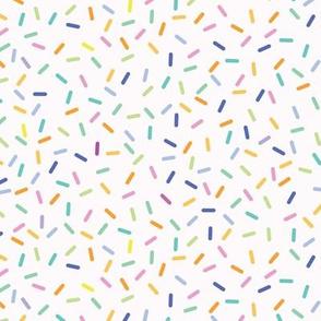 Rainbow Sprinkles - Vanilla