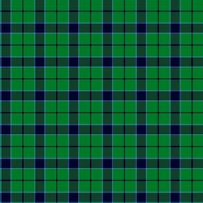 "Innes green hunting tartan, 3"""
