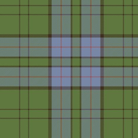 "Lockhart tartan, 6"" weathered fabric by weavingmajor on Spoonflower - custom fabric"