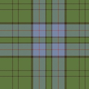 "Lockhart tartan, 6"" weathered"
