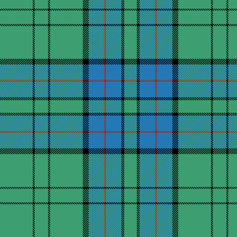 "Lockhart tartan, 6"" antique fabric by weavingmajor on Spoonflower - custom fabric"