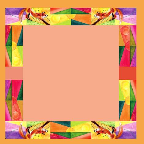 fox-s fabric by ebixcalligraphy on Spoonflower - custom fabric