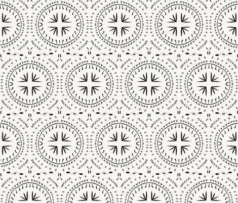 MANDALA_TILE_LIGHT_SIMPLE fabric by holli_zollinger on Spoonflower - custom fabric