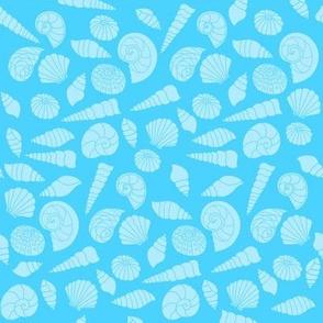 Sea Dream - Aquamarine - Sea Shells