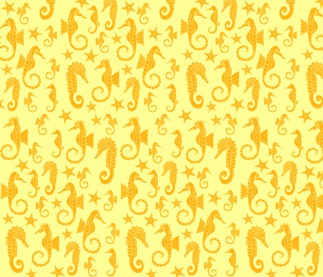 Seahorses_ditsy_repeat_-_gold_shop_preview