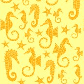 Seahorses_ditsy_repeat_-_gold_shop_thumb