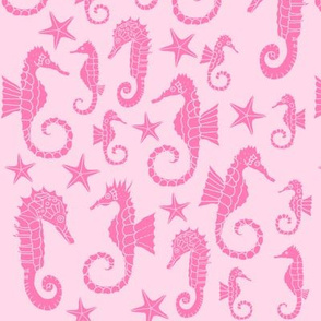 Sea Dream - Pinkmarine - Seahorses
