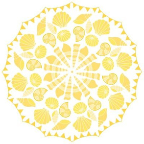Sea Dream - Goldmarine - Shell and Bunting Circle