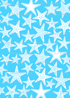 Sea Dream - Aquamarine - Starfish