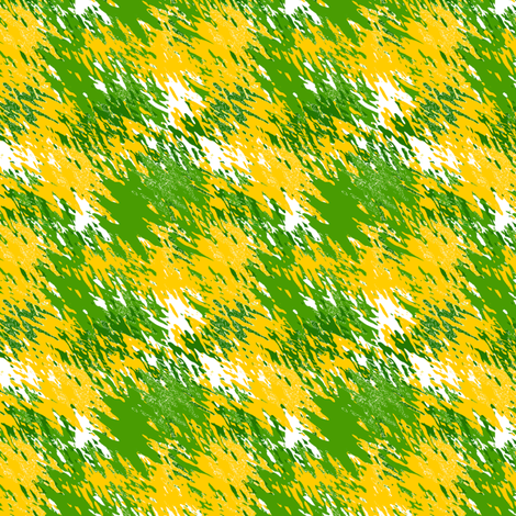 Brush Strokes_of_Yellow blooms fabric by anino on Spoonflower - custom fabric