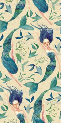 Mermaid Swim {Linen}