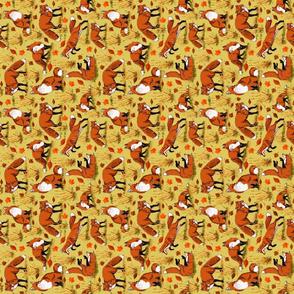 red_fox_autumn_tea_towel