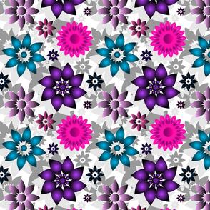 Pinwheel Floral Multi