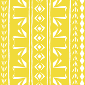 Swan Stripe Yellow