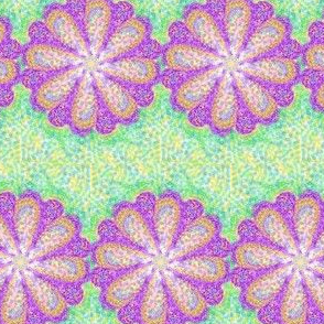 Petal-Powered Pointillism