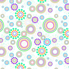 Dotted Circles Multi